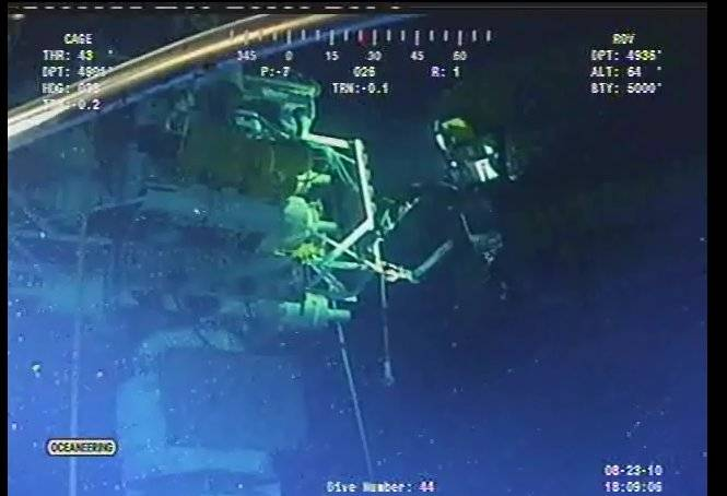 cappingstack ROV