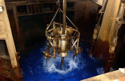 Moonpool in Gulf of Mexico Hydrogeology exp